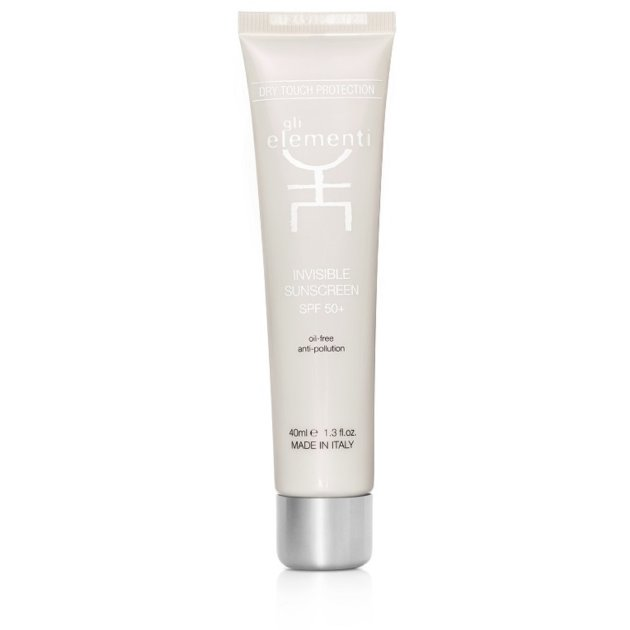 Gli Elementi - Солнцезащитный крем для лица SPF50 Invisible sunscreen SPF 50+ 01080GE