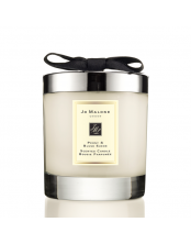 Home candle Peony & Blush Suede